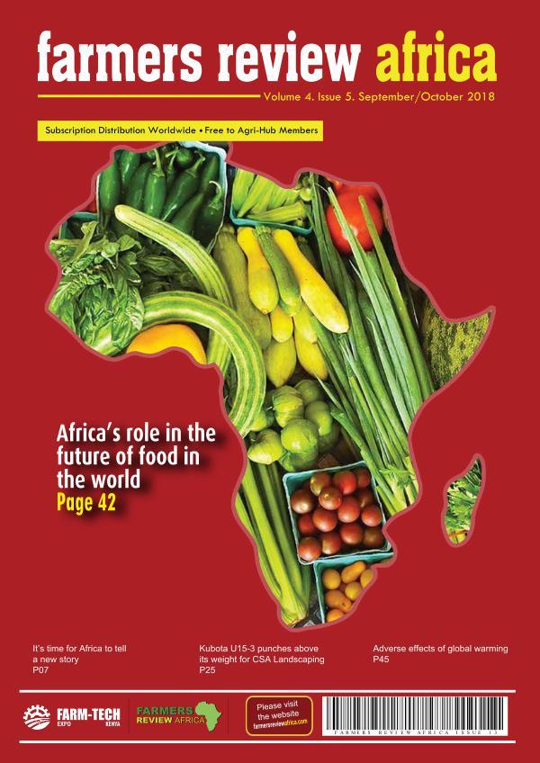 Farmers Review Africa Sept/Oct 2018 FRA - September - October 2018 digital 5