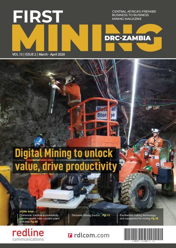 First Mining Drc-Zambia March -April 2020 digital edition First Mining Drc-Zambia March - April 2020 digital