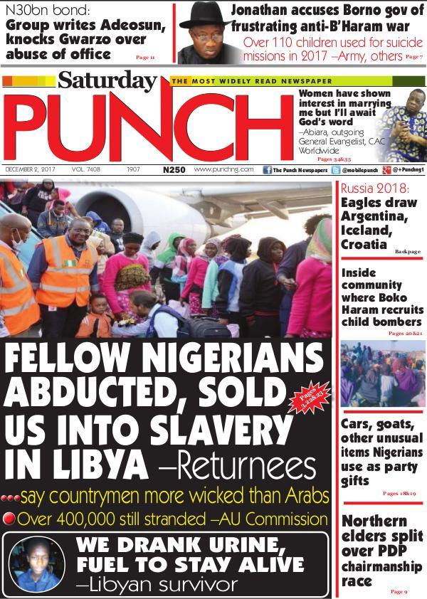 Epunchng - Most read newspaper in Nigeria Dec 2 2017