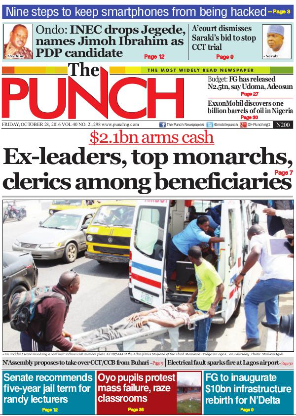 Epunchng - Most read newspaper in Nigeria The most widely read newspaper