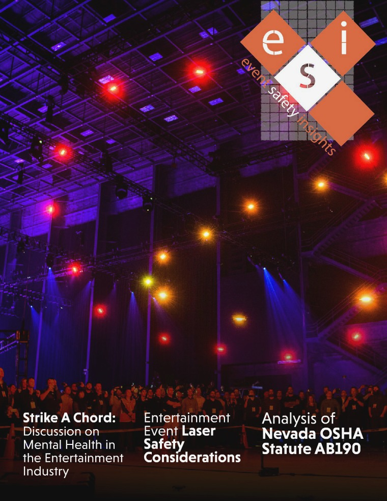 Event Safety Insights Issue Five | Summer 2018