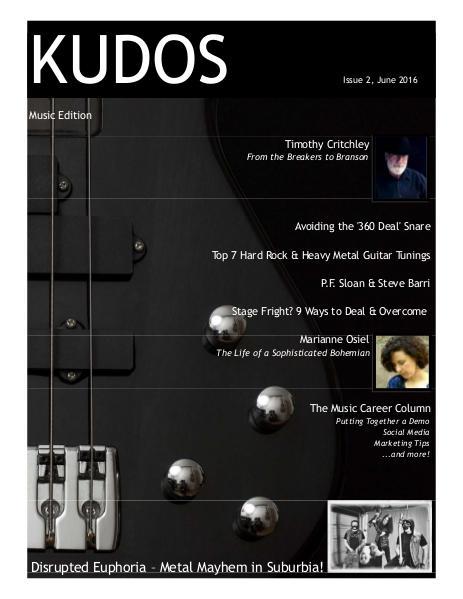 KUDOS - Music Issue