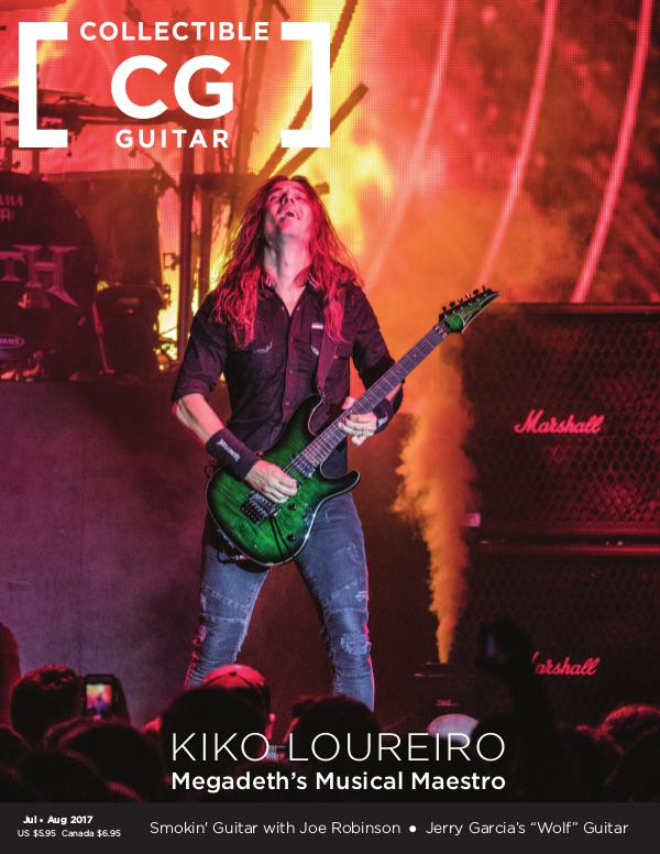 Collectible Guitar JulyAug17