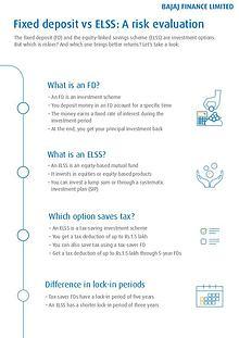 Fixed Deposit vs ELSS: A Risk Evaluation