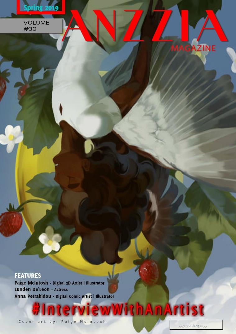 Anzzia Magazine Spring 2019 Volume #30