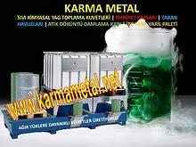 Atik yag toplama tanki kabi Kimyasal madde dolaplari icin taban kuvet