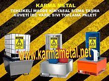 karma metal kimyasal asit tehlikeli madde depolama toplama kuveti