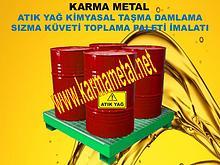 Karma Metal sivi kimyasal yag akaryakit paleti ibc varil kuveti