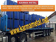 Karma Metal-Metal tasima kasalari sevkiyat kasa istanbul bursa konya