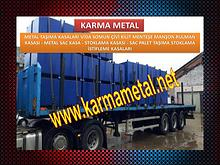 Karma Metal-Paslanmaz celik isil islem kasasi metal tasima kasalari