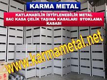 KARMA METAL-metal tasima kasasi kasalari avadanlik sandik palet