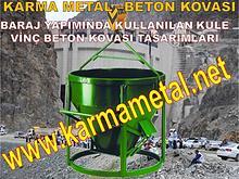 Baraj Kopru Viyaduk Otoyol santiye insaat yapimi beton kovasi