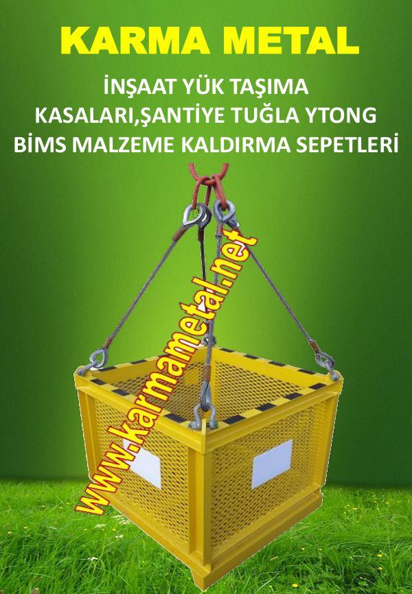 KARMA METAL-Kule-vinc-insaat-santiye-yuk-tugla-tasima-kaldirma-sepeti yuk sepeti