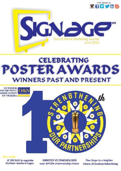signage Issue 3, Volume 1