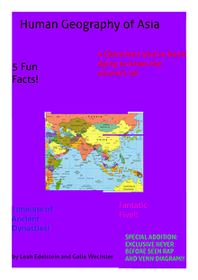 Human Geography of Asia