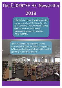 Library+ HE Newsletter 17/18