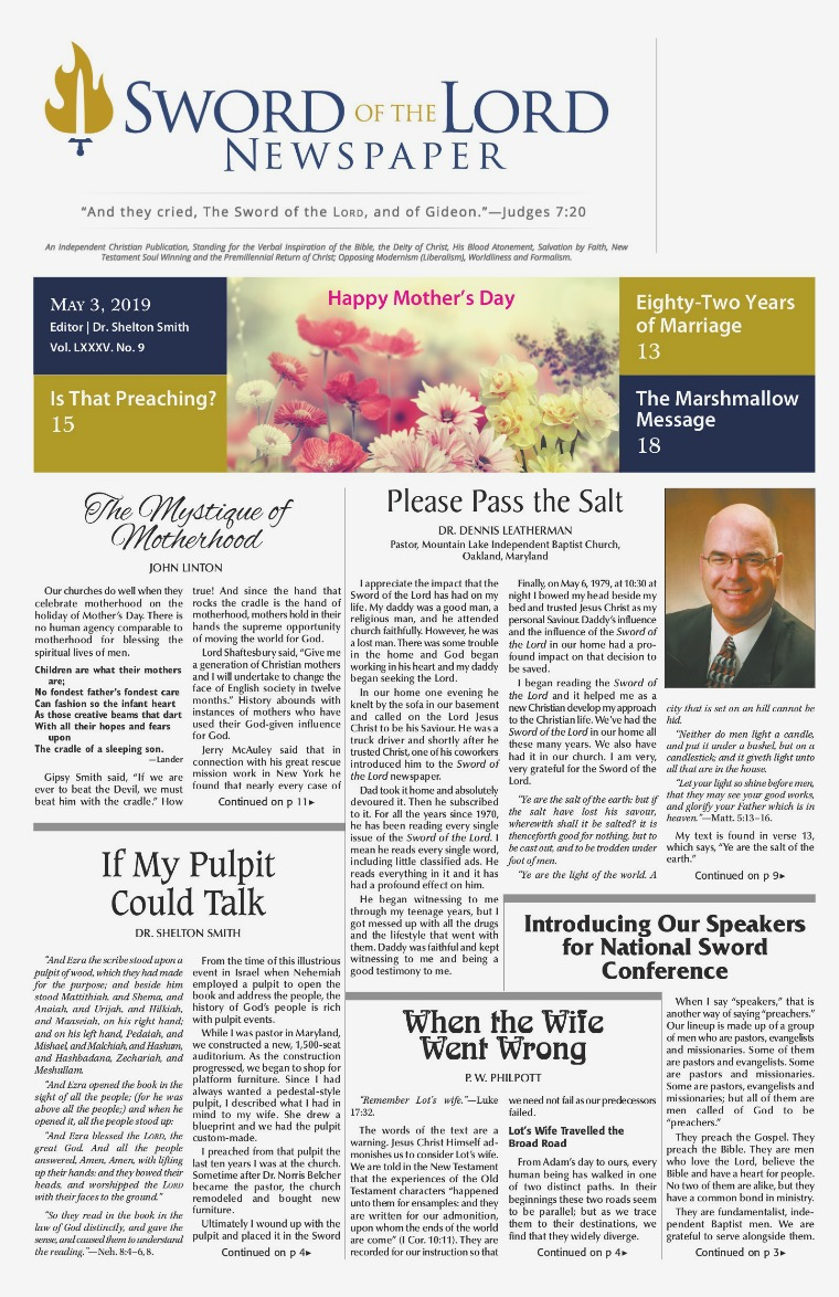 The SWORD OF THE LORD Newspaper | Joomag Newsstand