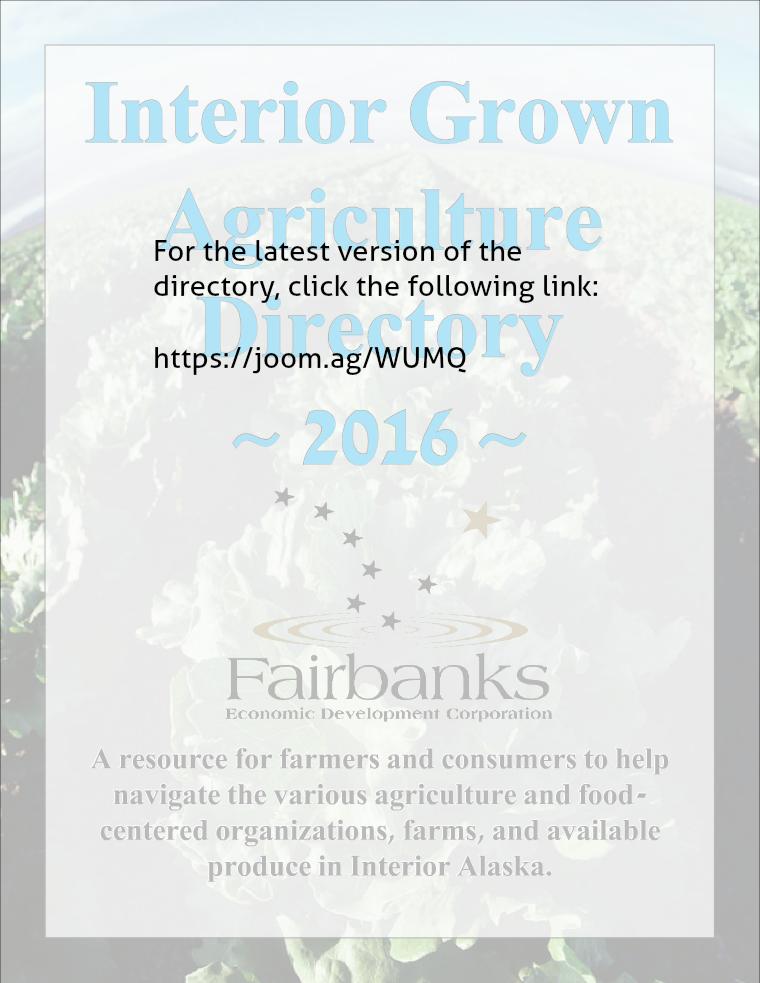 Interior Alaska Agriculture Directory 3
