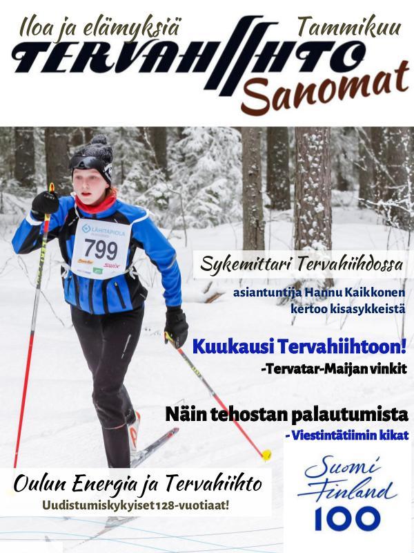 Tervahiihto Sanomat Tammikuu 2017
