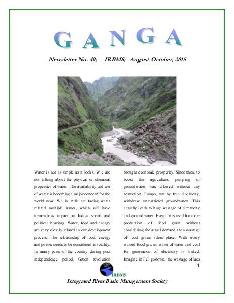 GANGA 49th Issue