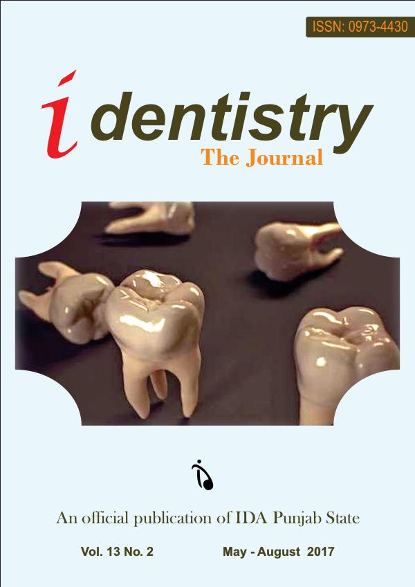 iDentistry The Journal May 2017