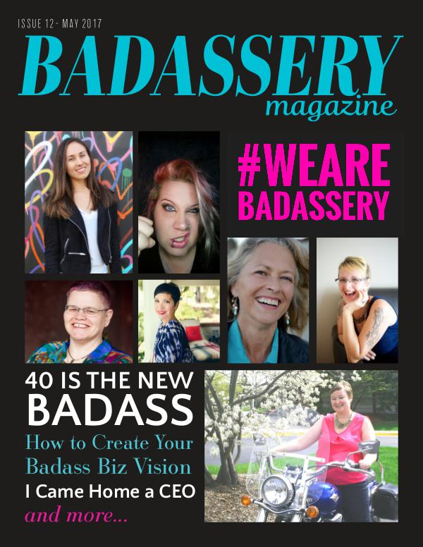 Badassery Magazine Issue 12 May 2017