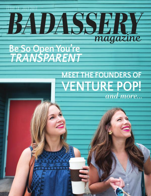 Badassery Magazine July2017-Issue