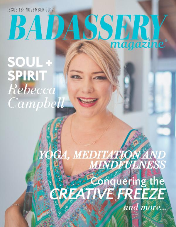 Badassery Magazine November 2017 Issue 18