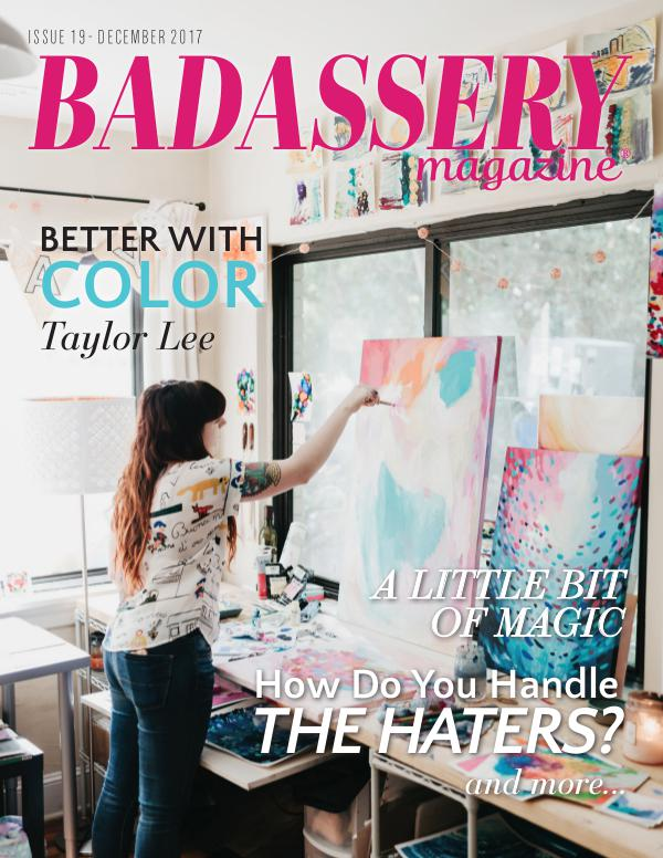 Badassery Magazine December 2017 Issue 19
