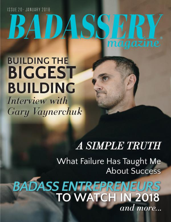 Badassery Magazine January 2018 Issue 20