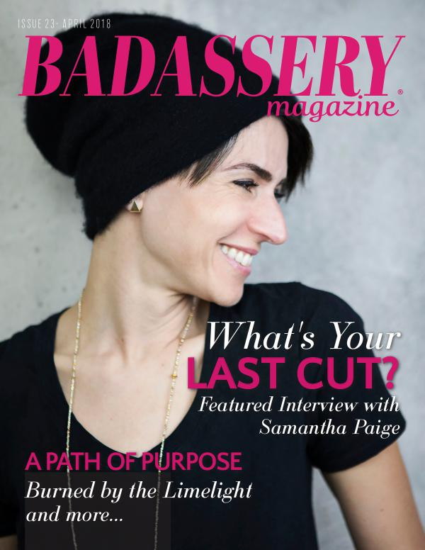 Badassery Magazine April 2018 Issue 23