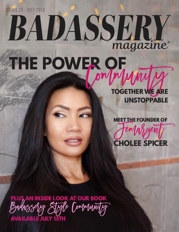 Badassery Magazine July 2018 Issue 26