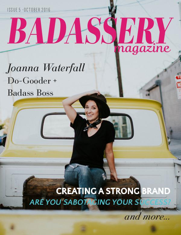 Badassery Magazine Issue 5 October