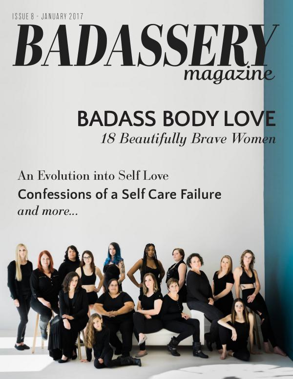 Badassery Magazine Issue 8 January 2017