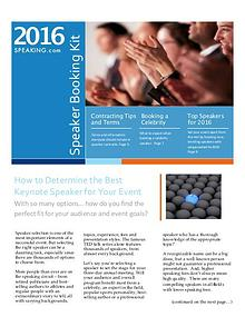 Keynote Speaker Booking Toolkit