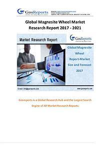 Global Magnesite Wheel Market Research Report 2017 - 2021
