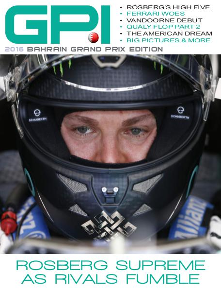 GPI 2016 Bahrain Grand Prix Edition