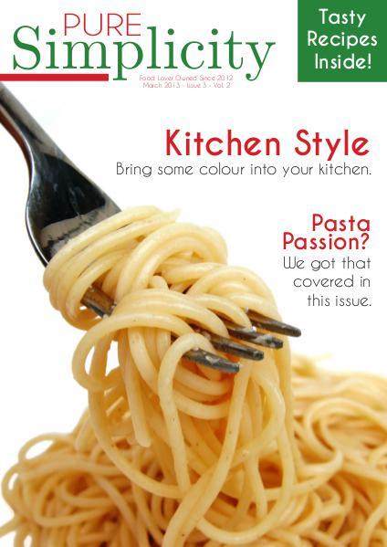Simplicity Food Magazine