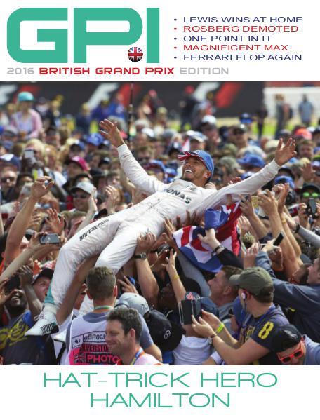 2016 British Grand Prix Edition
