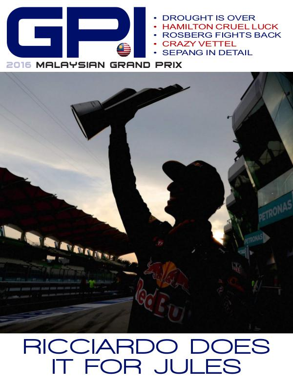 GPI 2016 Malaysian Grand Prix Edition