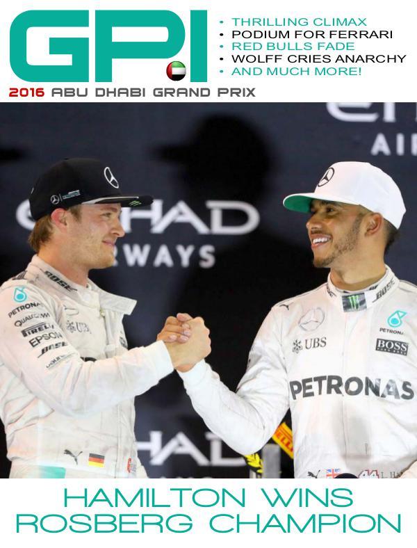2016 Abu Dhabi Grand Prix
