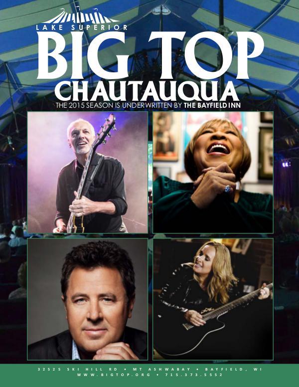 Season Program | Big Top Chautauqua 2015