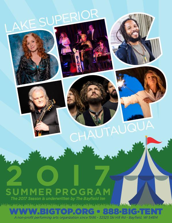 Season Program   Big Top Chautauqua 2017