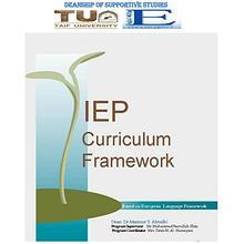 IEP Curriculum Framework