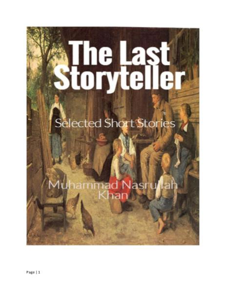 The Last Storyteller (First Edition)
