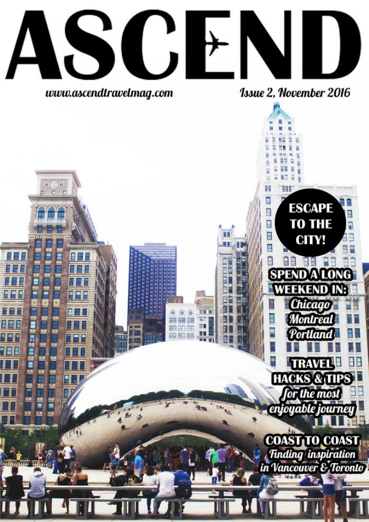 Ascend Travel Magazine Issue #2 Escape to the City