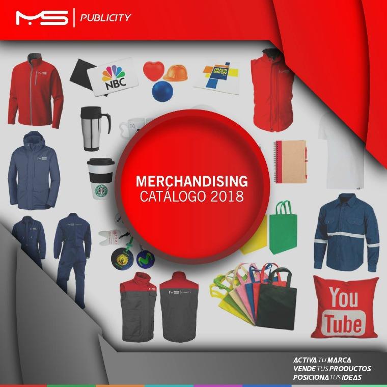 Catalogo de Merchandising Catálogo de Merchandising
