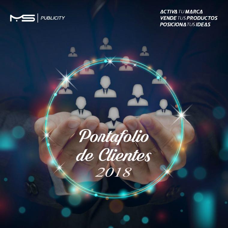 PORTAFOLIO DE CLIENTES MS PUBLICITY PORTAFOLIO DE CLIENTES MS PUBLICITY