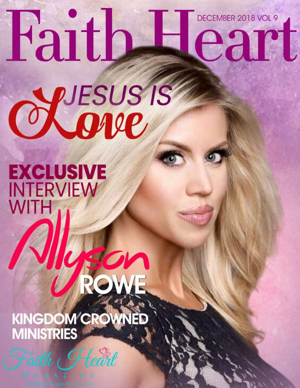 Faith Heart Magazine Allyson Rowe