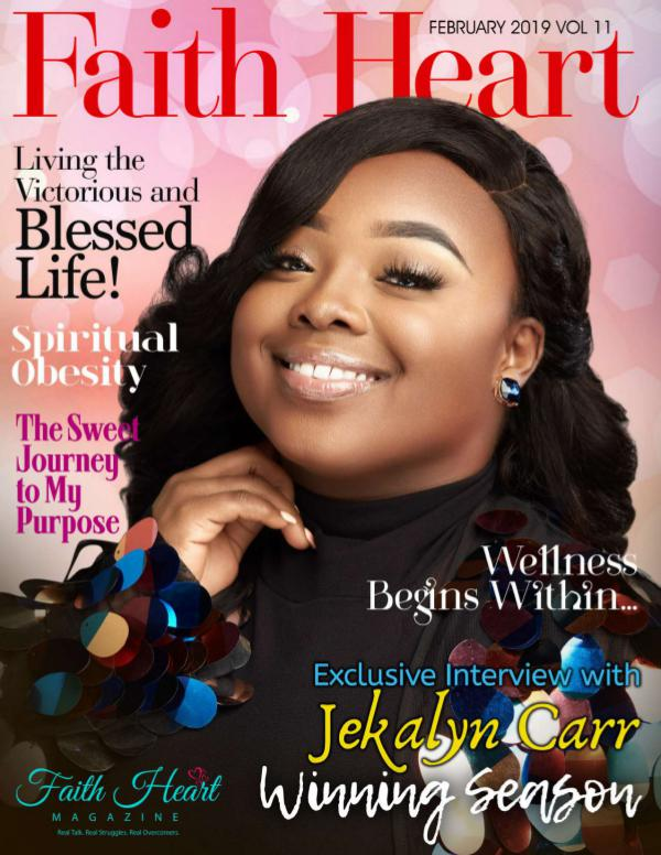 Faith Heart Magazine Jekalyn Carr